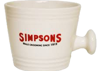 SIMPSONS Ceramic Shaving Mug