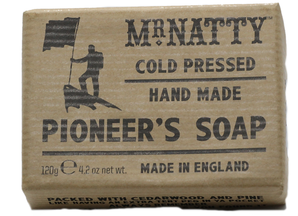 Mr. Natty Pioneer Soap