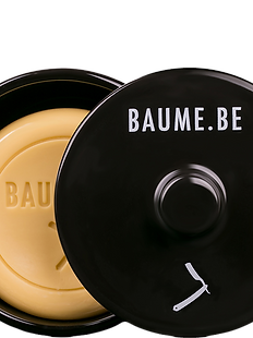 BAUME.BE Shaving Soap w/Ceramic Bowl