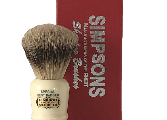 SIMPSONS Pure Badger Shave Brush