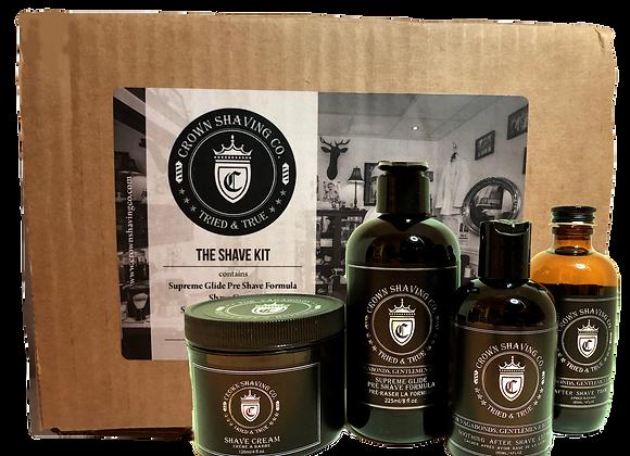 Crown Shaving Co. Shave Gift Set