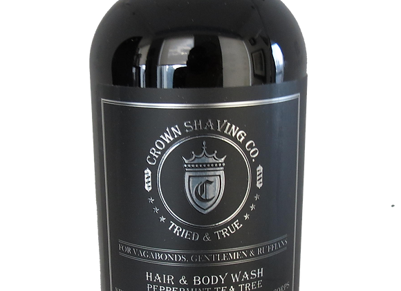 Crown Shaving Co. Peppermint Tea Tree Hair& Body Wash