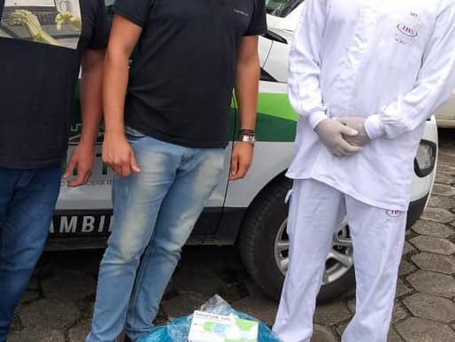 Defesa Civil de Treviso recebe doação da JBS
