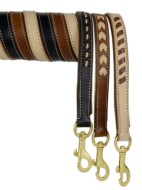 DOGUE MAN Leather Lead