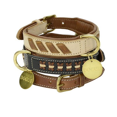 DOGUE MAN Leather Collars