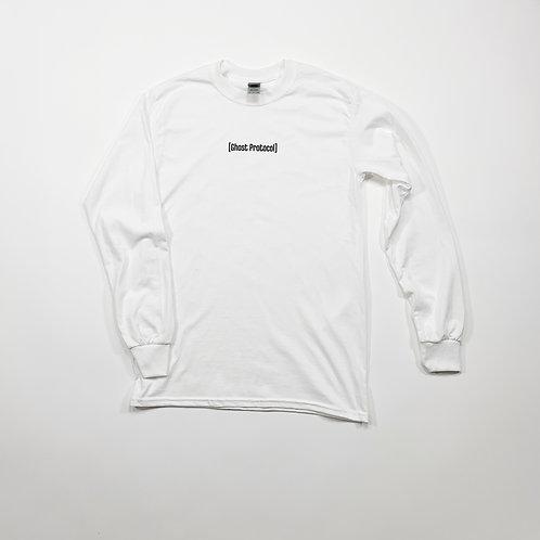 Small Bar L/S Shirt - White