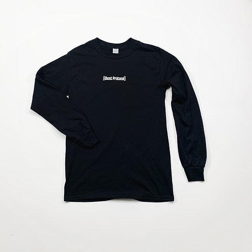 Small Bar L/S Shirt - Black