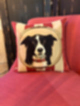 Coussin chien Forcalquier