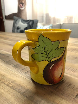 Mug figue poterie Forcalquier