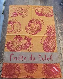 Torchon Fruits du Soleil Coucke Forcalquier Alpes de Haute Provence 04