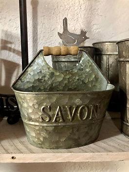 Porte savon et porte éponge Antic Line Forcalquier