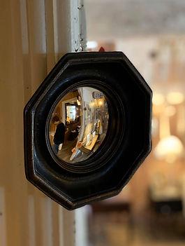 Miroir de sorcière octogonal déco forcalquier
