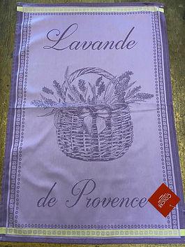 Torchon coucke lavande deco meuble forcalquier alpes de haute provence 04
