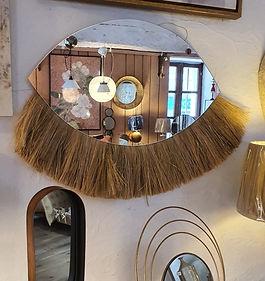 Miroir savane Athezza deco meuble forcalquier alpes de haute provence