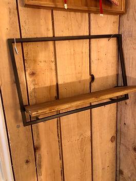 Étagère bois et fer Forcalquier