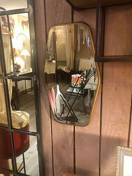 Miroir doré Athezza Forcalquier
