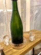 Support à bouteille et son bouchon Forcalquier