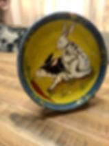 Saladier lapins poterie Forcalquier