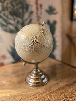 Globe terrestre déco Forcalquier