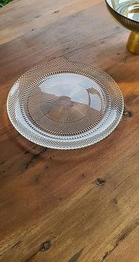assiettes verre deco forcalquier decoration 04 paca