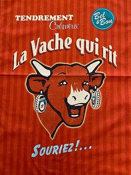 Torchon La vache qui rit Forcalquier Alpes de Haute Provence 04