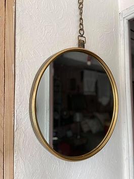 Miroir rond déco forcalquier