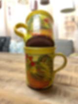 Mug coq poterie Forcalquier