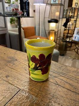 verre tasse a cafe poterie forcalquier alpes de haute provence 04