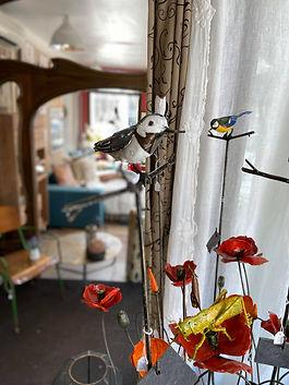 Tuteur oiseau Arrosoir&Persil