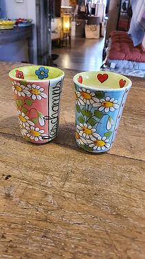 Verre tasse à café déco Forcalquier Alpes de Haute Provence 04