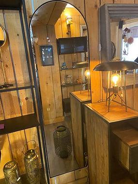 Miroir fer deco meuble forcalquier alpes de haute provence 04