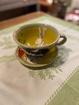 Petit déjeuner poterie deco alpes de haute provence 04