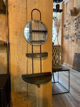 Etagère miroir déco meuble logis des deux lions forcalquier alpes de haute provence 04 PACA france
