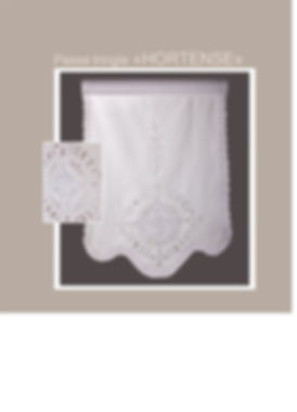 Brise- bise rideau Forcalquier