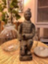 Figurine guerrier Forcalquier