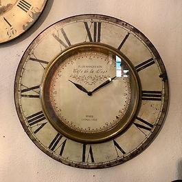 Horloge murale vitrée Forcalquier