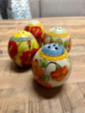 Salière poterie Forcalquier