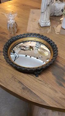 Plateau miroir convexe déco meuble logis des deux lions forcalquier alpes de haute provence 04 PACA france