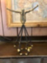 Figurine acrobate Forcalquier