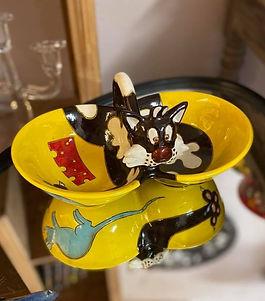 Double bol poterie forcalquier alpes de haute provence 04