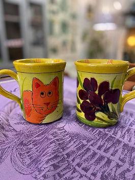 Mug poterie forcalquier alpes de haute provence 04