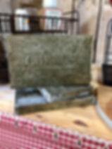 Dessous de plat zinc Antic Line Forcalquier