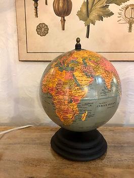 Globe terrestre deco meuble forcalquier alpes de haute provence 04