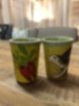 Verre tasse à café lapin poterie Forcalquier