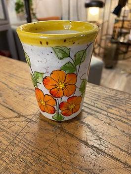 Verre ou tasse à café poterie deco forcalquier alpes de haute provence 04