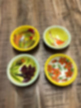 Mini coupelles poterie