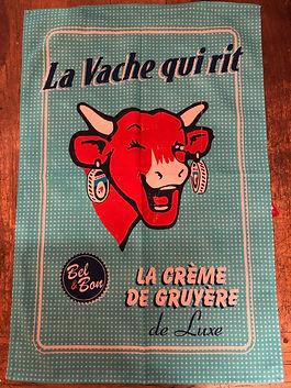 Torchon la vache qui rit Forcalquier
