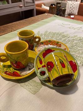 Tasse café poterie deco forcalquier alpes de haute provence 04