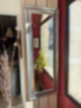 Miroir rectangulaire couleur zinc déco forcalquier