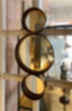 Miroir 3 ronds déco forcalquier